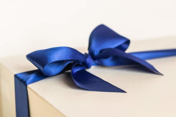 Cobalt Blue Ribbon